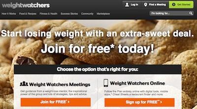 weight watchers coupon code